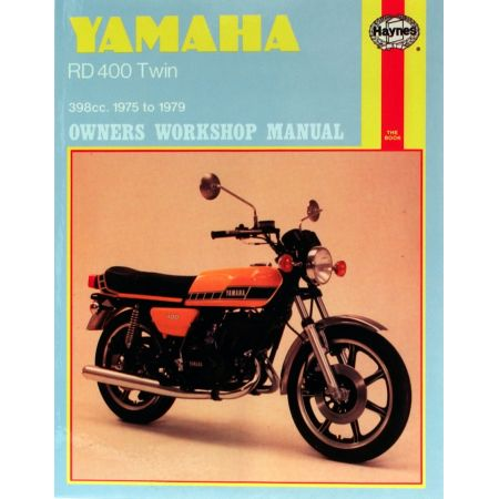 RD400 Twin 75-79 Revue technique Haynes YAMAHA Anglais