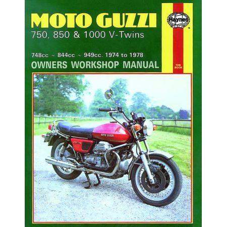 750 850 1000 V-Twins 74-78 Revue technique Haynes MOTO-GUZZI Anglais