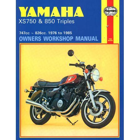 XS750 850 Triples 76-85 Revue technique Haynes YAMAHA Anglais