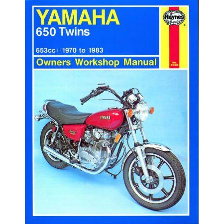 650 Twins 70-83 Revue technique Haynes YAMAHA Anglais
