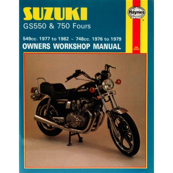 Gs Gs Fours Revue Technique Haynes Suzuki Anglais on 1982 Suzuki Gs550e
