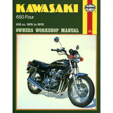 650 Four 76-78 Revue technique Haynes KAWASAKI Anglais
