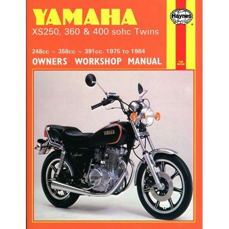 XS250 360 400 sohc Twins 75-84 Revue technique Haynes YAMAJA Anglais