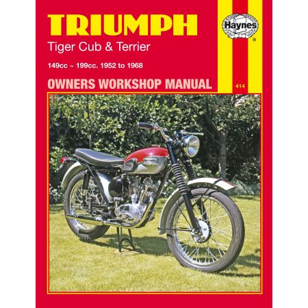 Tiger Cub Terrier 52-68 Revue technique Haynes TRIUMPH Anglais