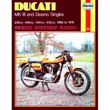 MK III Desmo Singles 69-76 Revue technique Haynes DUCATI Anglais