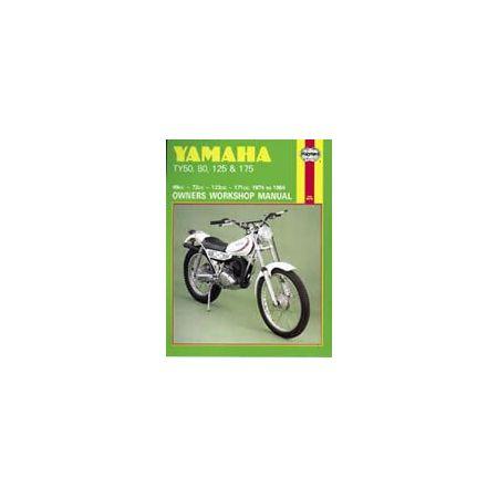 TY 50 80 125 175 74-84 Revue technique Haynes YAMAHA Anglais