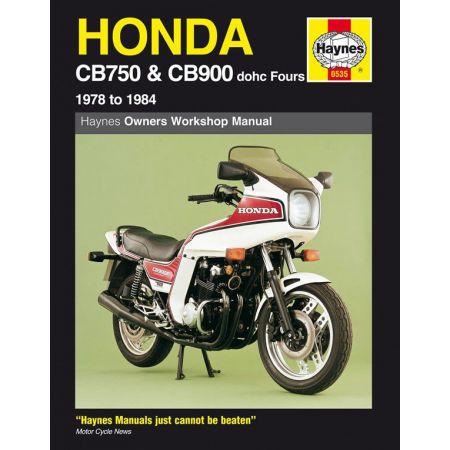 CB750 CB900 dohc Fours 78-84 Revue technique Haynes HONDA Anglais