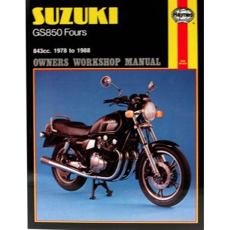 GS850 Fours 78-88 Revue technique Haynes SUZUKI Anglais