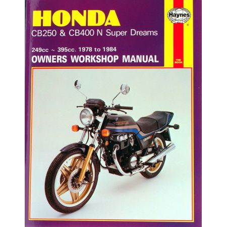 CB250 CB400N Super Dreams 78-84 Revue technique HONDA Anglais
