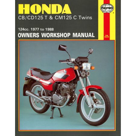 CB CD125T CM125C Twins 77-88 Revue technique Haynes HONDA Anglais