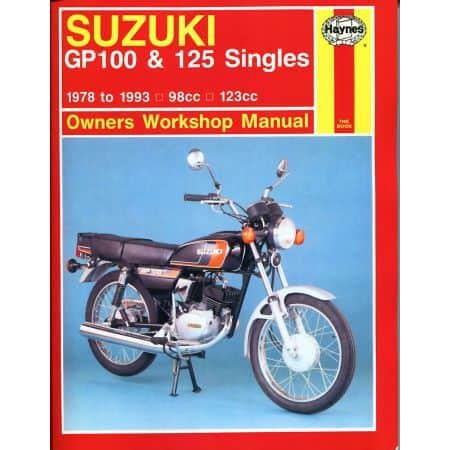 GP100 125 Singles 78-93 Revue technique Haynes SUZUKI Anglais