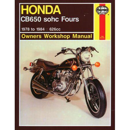 CB650 sohc Fours 78-84 Revue technique Haynes HONDA Anglais