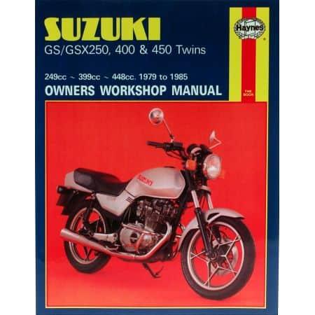 GS GSX 250 400 450 79-85 Revue technique SUZUKI Haynes Anglais