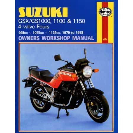 GS GSX 1000 1100 79-88 Revue technique Haynes SUZUKI Anglais