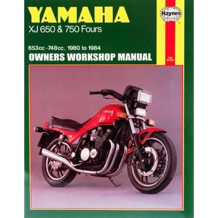 XJ 650 750 Fours 80-84 Revue technique Haynes YAMAHA Anglais