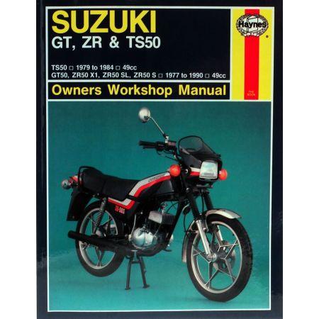 GT ZR TS 50 77-90 Revue technique Haynes SUZUKI Anglais