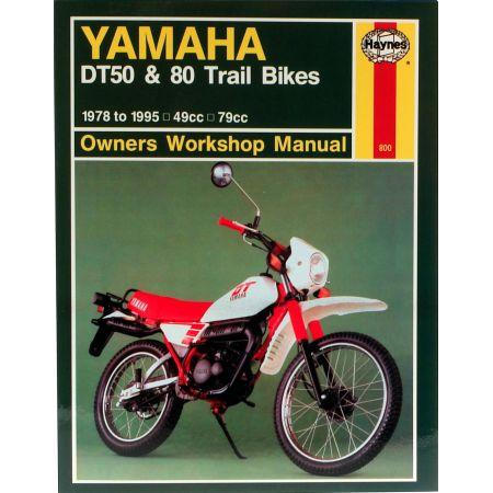 DT50 80 Trail Bikes 78-95 Revue technique Haynes YAMAHA Anglais