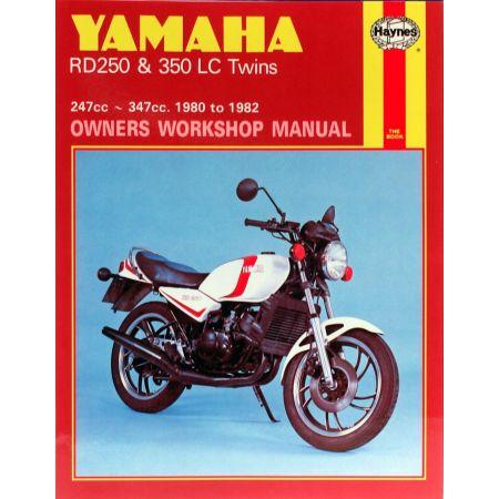RDLC 250 350 Twins 80-82 Revue technique Haynes YAMAHA Anglais