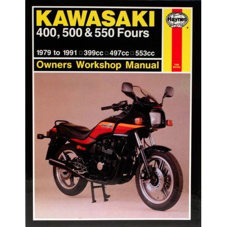 400 500 550 Fours 79-91 Revue technique Haynes KAWASAKI Anglais