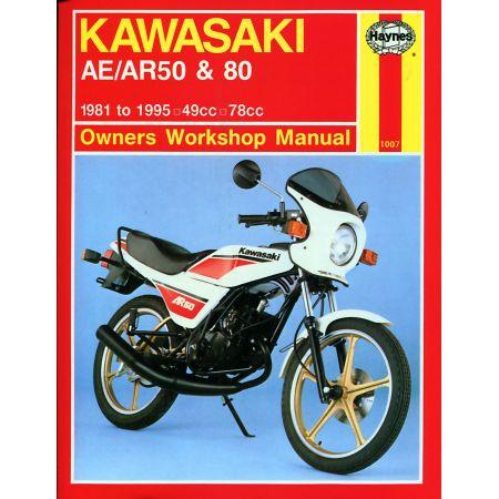 AE AR 50 80 81-95 Revue technique Haynes KAWASAKI Anglais