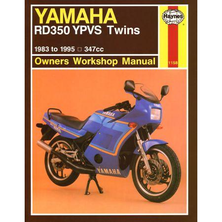 RD350 YPVS Twins 83-95 Revue technique Haynes YAMAHA Anglais