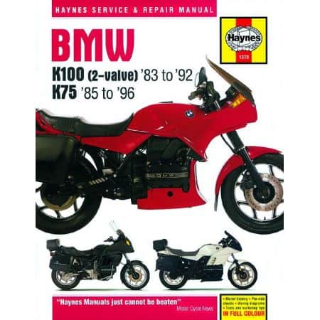 K100 K75 2-valve 83-96 Revue technique BMW Haynes Anglais