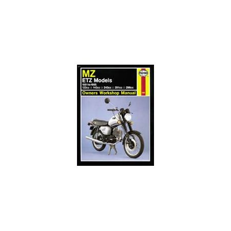 ETZ 81-95 Revue technique Haynes MZ Anglais
