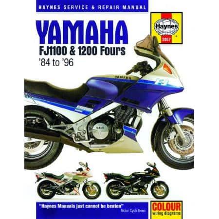 FJ 1100 1200 Fours 84 -96 Revue technique Haynes YAMAHA Anglais