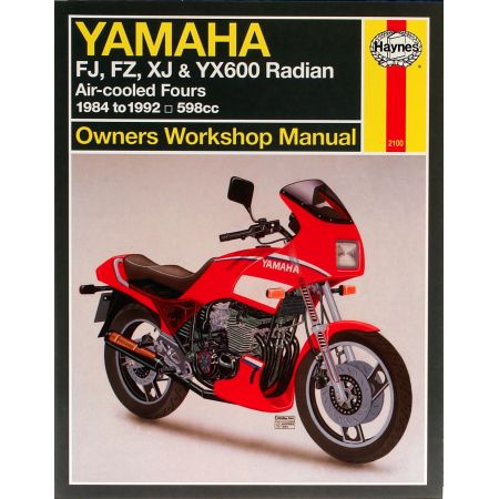FJ FZ XJ YX 600 Radian 84-92 Revue technique Haynes YAMAHA Anglais