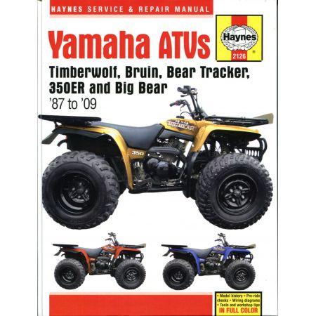 ATVs 87-09 Revue technique Haynes YAMAHA Anglais