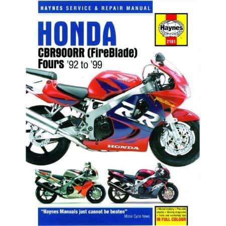 CBR900RR FireBlade 92-99 Revue technique Haynes HONDA Anglais