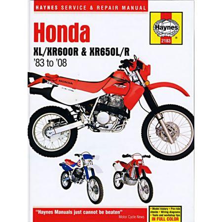 XL XR 600R XR 650 L R 83-14 Revue technique Haynes HONDA Anglais