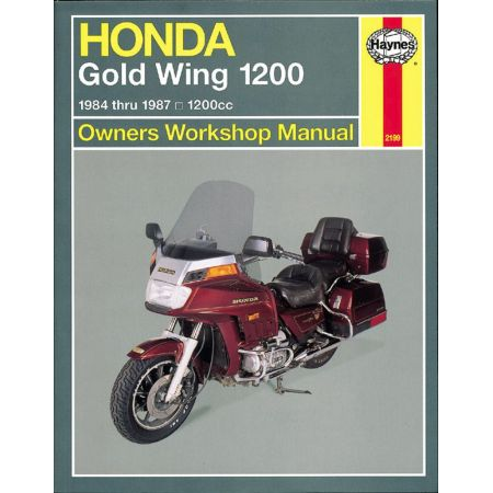 Gold Wing 1200 USA 84-87 Revue technique HaynesHONDA Anglais