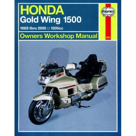 Gold Wing 1500 USA 88-00 Revue technique Haynes HONDA Anglais