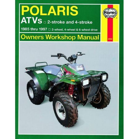 ATVs 85-97 Revue technique Haynes POLARIS Anglais