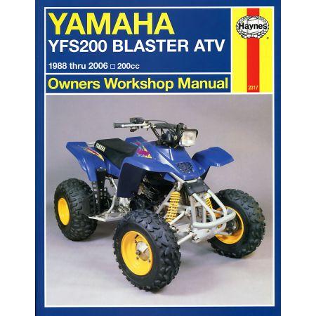YFS200 Blaster ATV 88-06 Revue technique Haynes YAMAHA Anglais