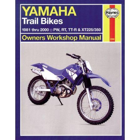 Trail Bikes 81-03 Revue technique Haynes YAMAHA Anglais