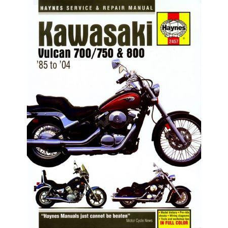 Vulcan 700 750 800 85 -04 Revue technique Haynes KAWASAKI Anglais
