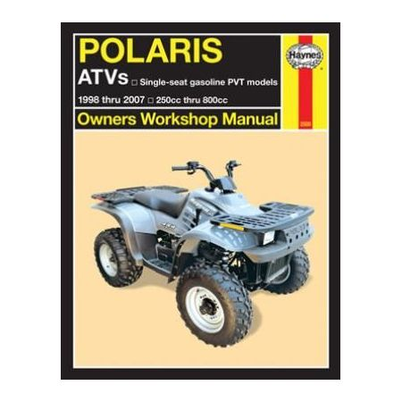 ATVs 98-07 Revue technique Haynes POLARIS Anglais