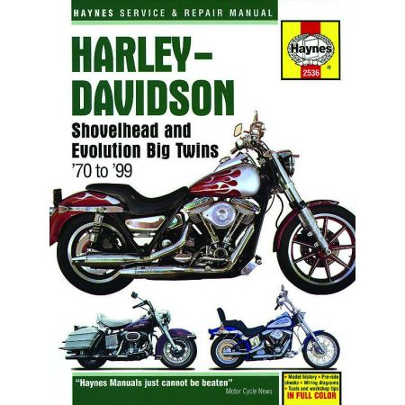 Shovelhead 70-99 Revue technique Haynes HARLEY-DAVIDSON Anglais