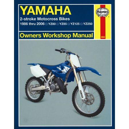 2-stroke Motocross Bikes 86 - 06 Revue technique Haynes YAMAHA Anglais