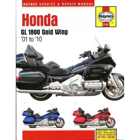GL1800 Gold Wing 1800 01-10 Revue technique Haynes HONDA Anglais