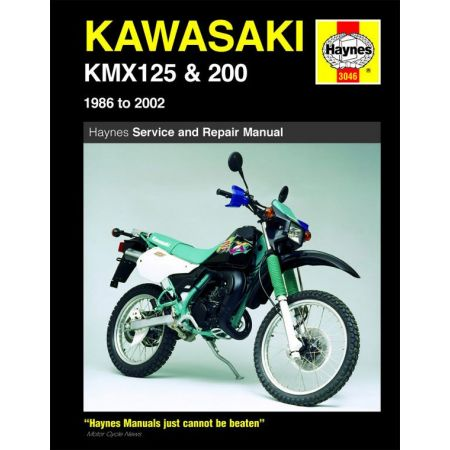 KMX 125 200 86-02 Revue technique Haynes KAWASAKI Anglais