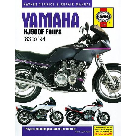 XJ900F Fours 83-94 Revue technique Haynes YAMAHA Anglais