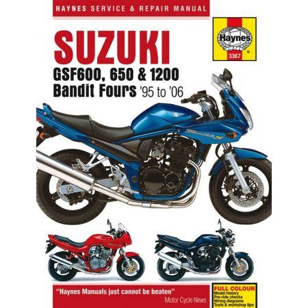 GSF 600 650 1200 Bandit Revue technique Haynes SUZUKI Anglais