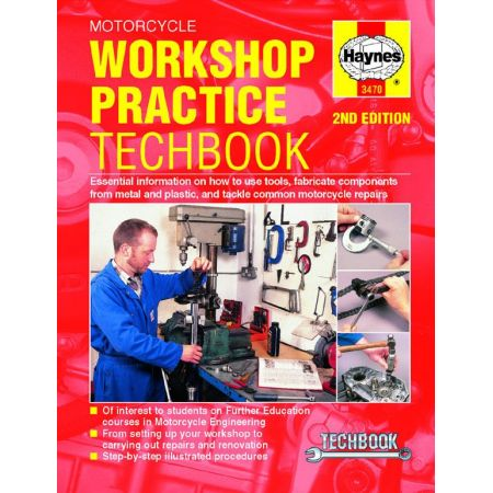 Motorcycle Workshop Practice Techbook Revue technique Haynes Anglais