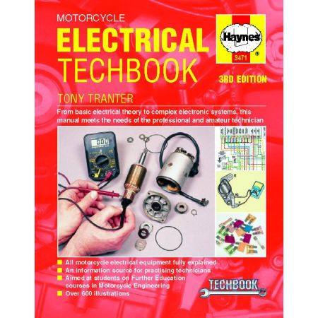 Motorcycle Electrical Techbook Revue technique Haynes Anglais