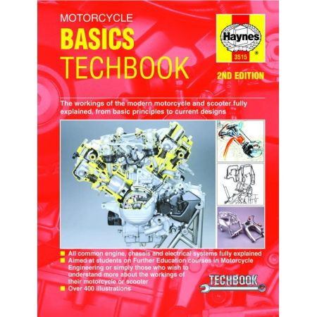 Motorcycle Basics TechBook 2nd Edition Revue technique Haynes Anglais