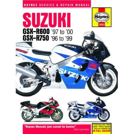 GSX-R 600 750 96-00 Revue technique Haynes SUZUKI Anglais