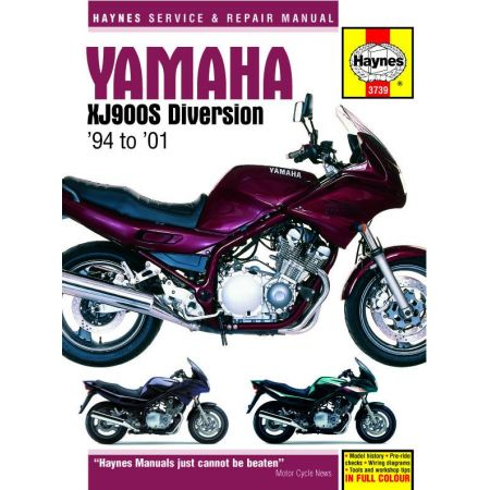 XJ900S Diversion 94-01 Revue technique Haynes YAMAHA Anglais